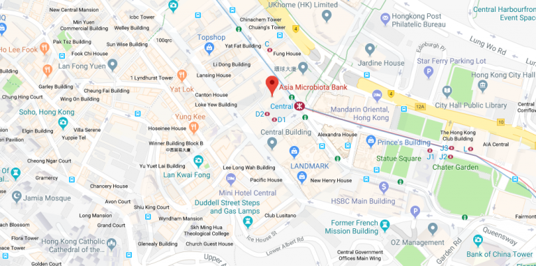 Hong Kong Digestive Health Centre Map