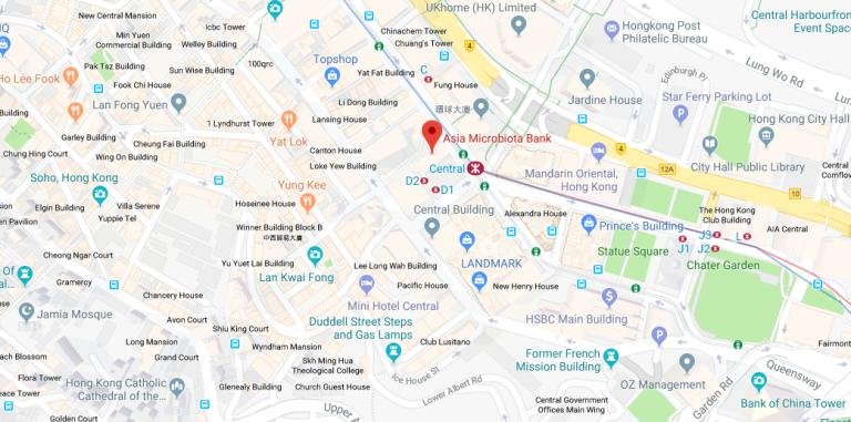 Hong Kong Digestive Health Centre Map